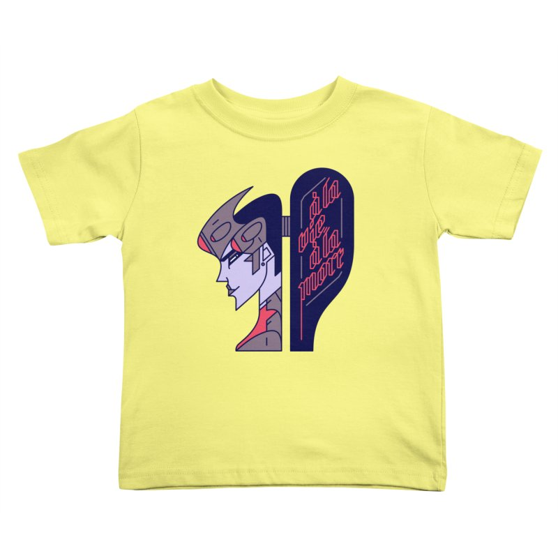 To Life, To Death Kids Toddler T-Shirt by Spencer Fruhling's Artist Shop