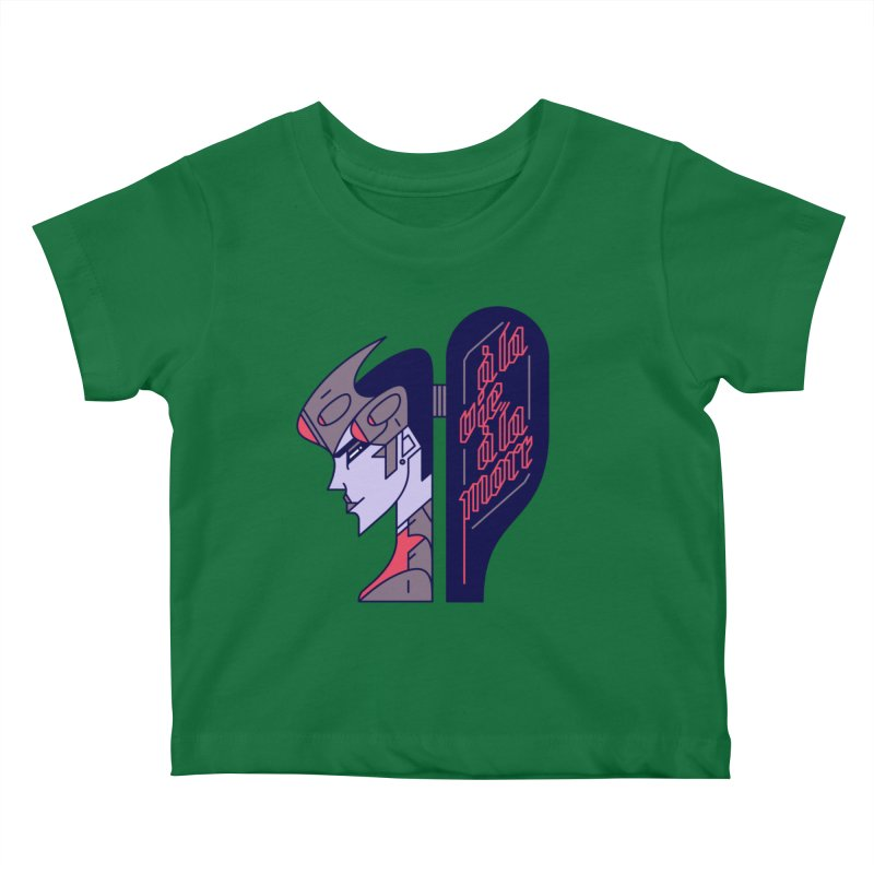 To Life, To Death Kids Baby T-Shirt by Spencer Fruhling's Artist Shop