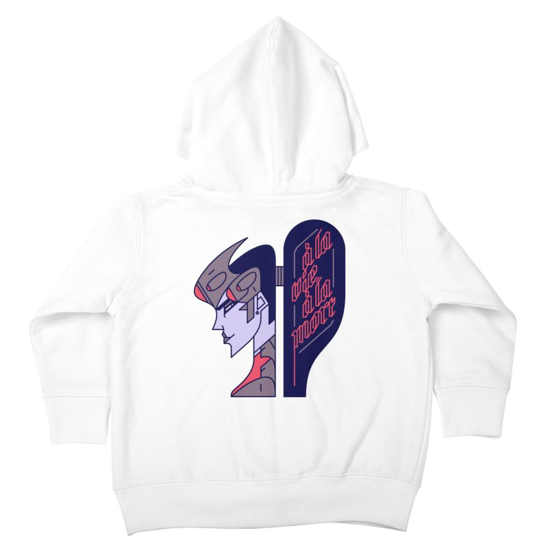 To Life, To Death Kids Toddler Zip-Up Hoody by Spencer Fruhling's Artist Shop