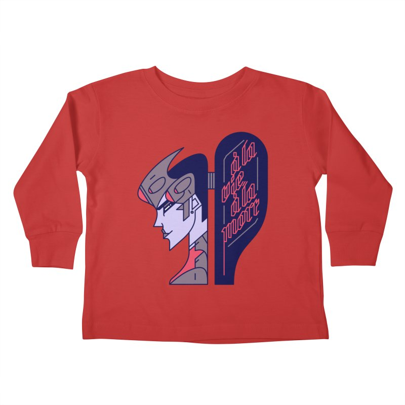 To Life, To Death Kids Toddler Longsleeve T-Shirt by Spencer Fruhling's Artist Shop