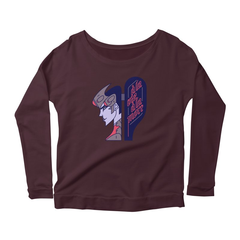 To Life, To Death Women's Scoop Neck Longsleeve T-Shirt by Spencer Fruhling's Artist Shop