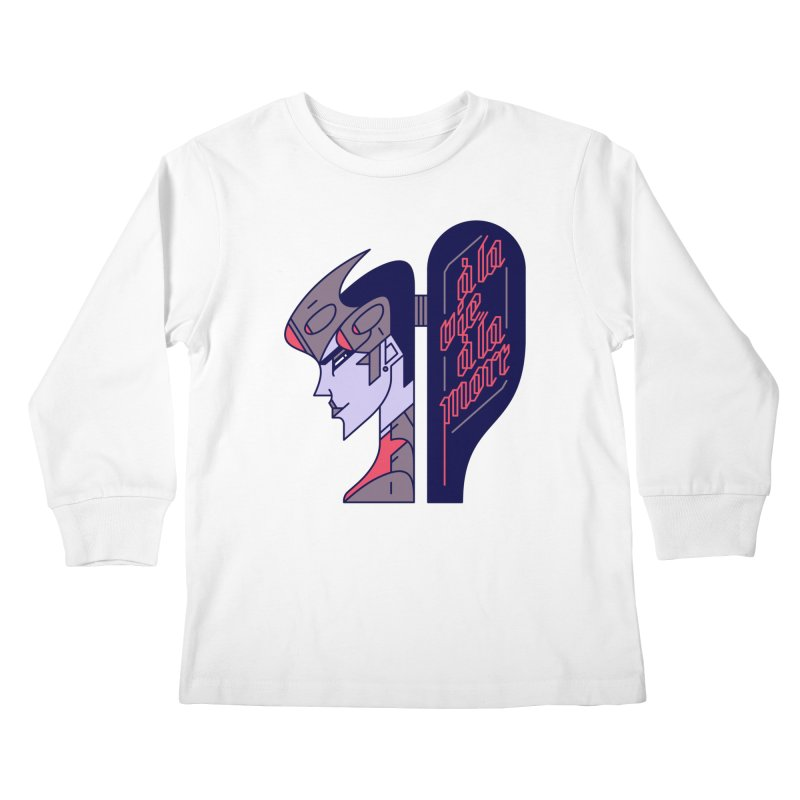 To Life, To Death Kids Longsleeve T-Shirt by Spencer Fruhling's Artist Shop