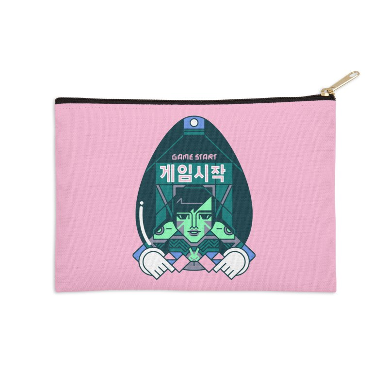 Game Start Accessories Zip Pouch by Spencer Fruhling's Artist Shop