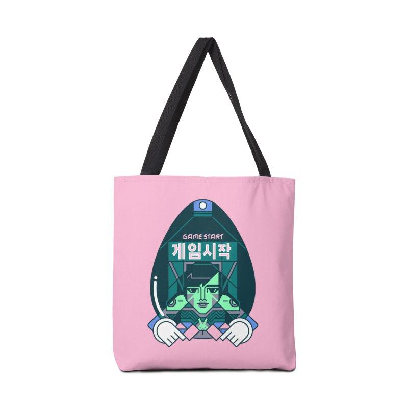 Game Start Accessories Bag by Spencer Fruhling's Artist Shop
