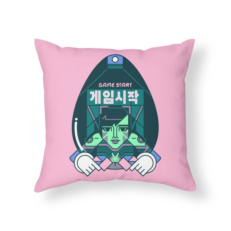 Game Start Home Throw Pillow by Spencer Fruhling's Artist Shop