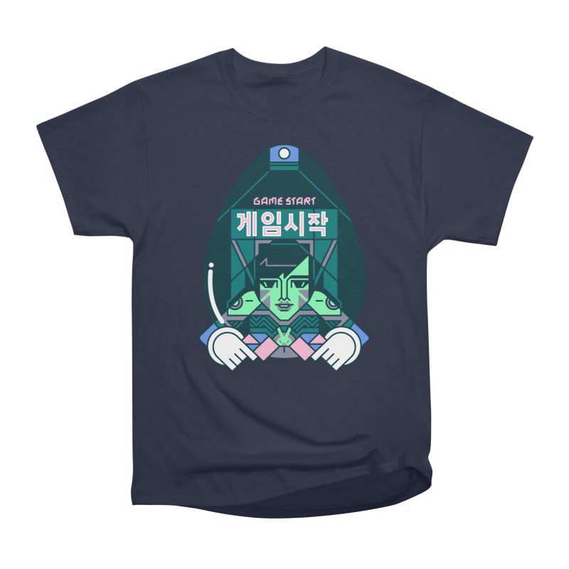Game Start Women's Heavyweight Unisex T-Shirt by Spencer Fruhling's Artist Shop