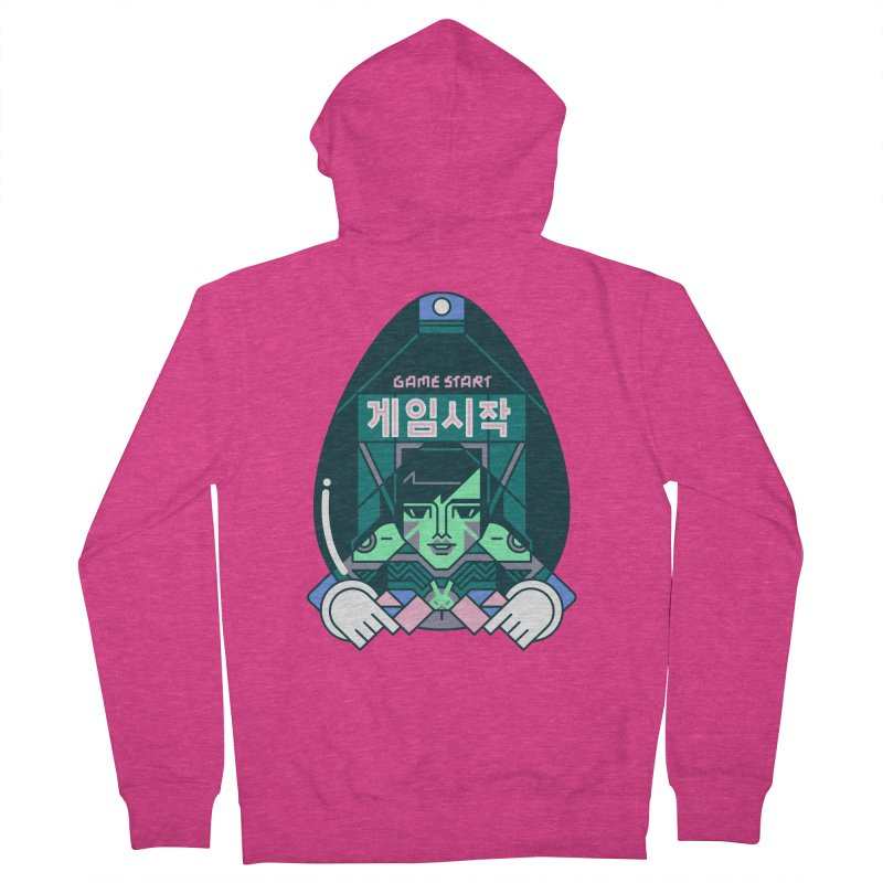 Game Start Women's French Terry Zip-Up Hoody by Spencer Fruhling's Artist Shop