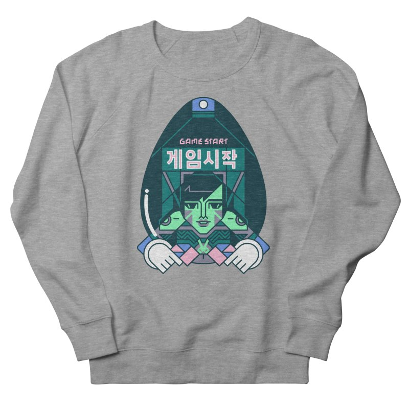 Game Start Men's French Terry Sweatshirt by Spencer Fruhling's Artist Shop