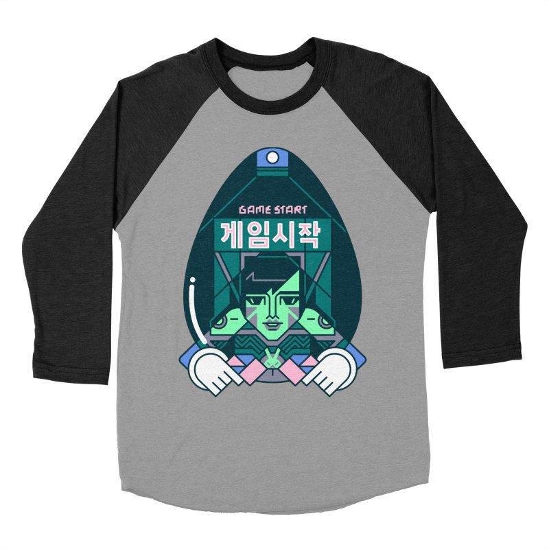 Game Start Women's Baseball Triblend Longsleeve T-Shirt by Spencer Fruhling's Artist Shop