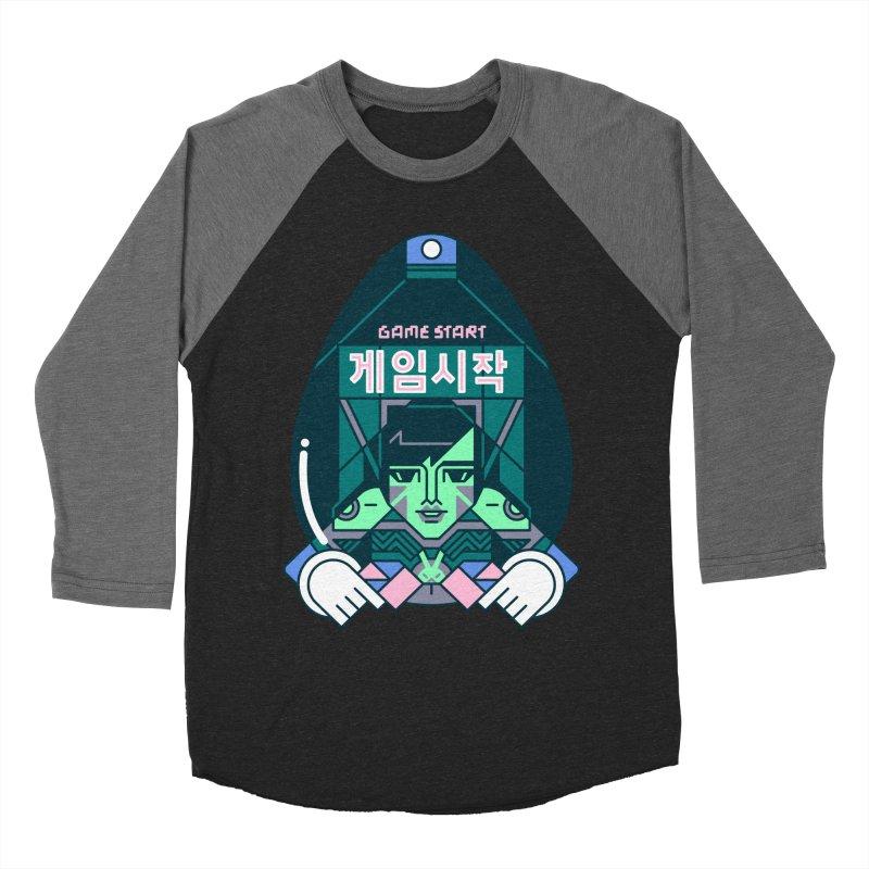 Game Start Men's Baseball Triblend Longsleeve T-Shirt by Spencer Fruhling's Artist Shop