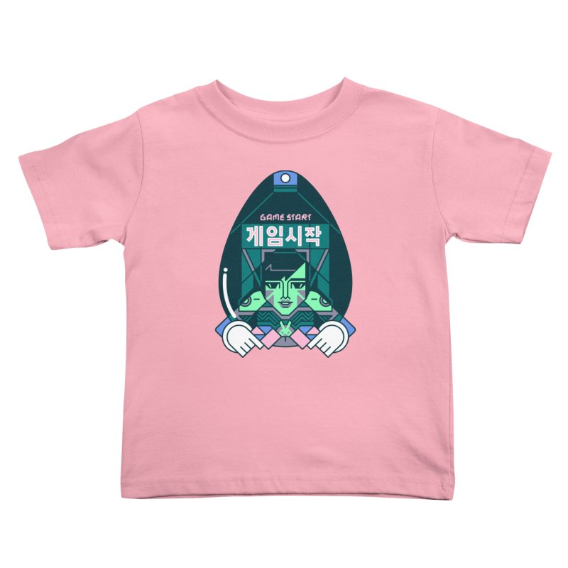 Game Start Kids Toddler T-Shirt by Spencer Fruhling's Artist Shop