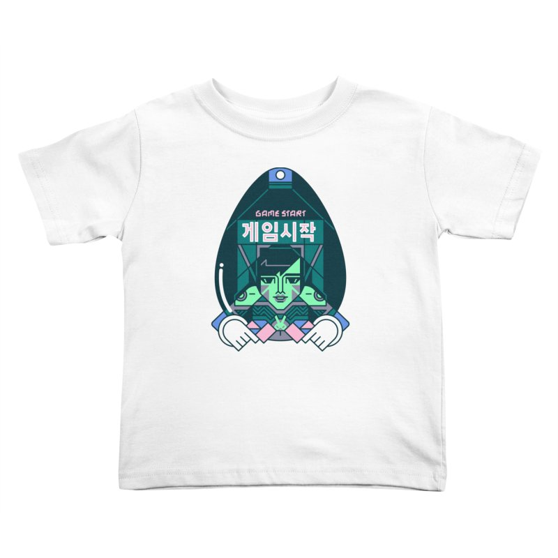 Game Start Kids Toddler T-Shirt by Spencer Fruhling's Artist Shop