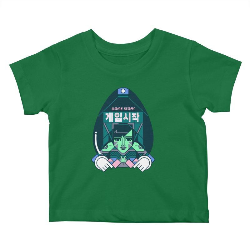 Game Start Kids Baby T-Shirt by Spencer Fruhling's Artist Shop