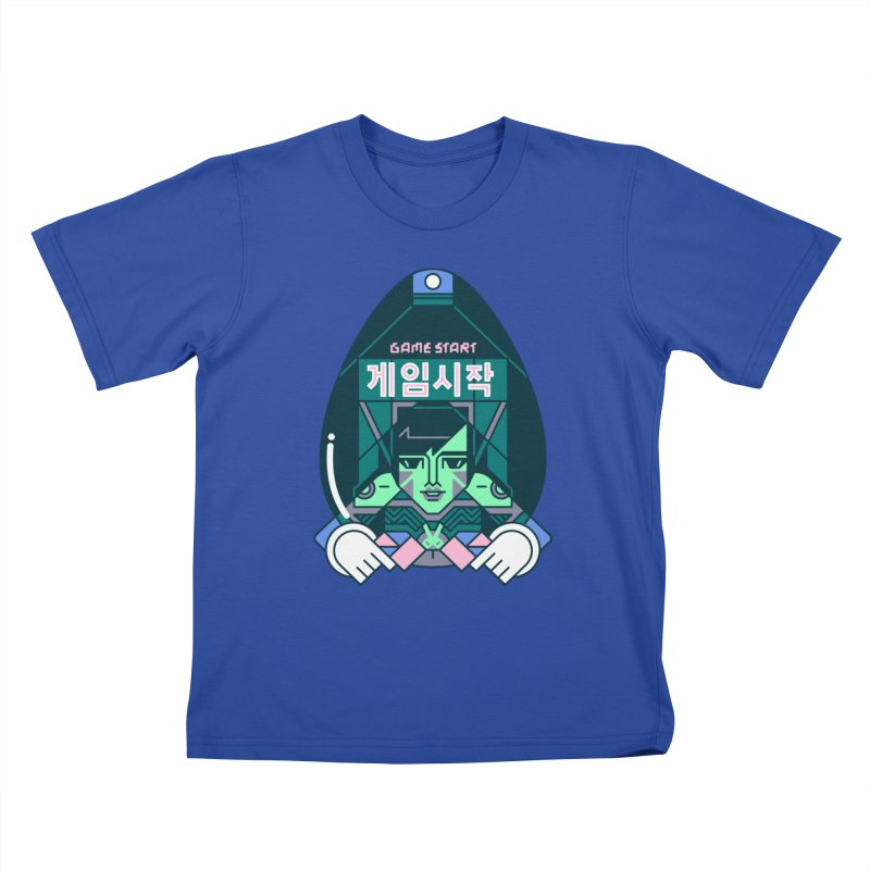 Game Start Kids T-Shirt by Spencer Fruhling's Artist Shop