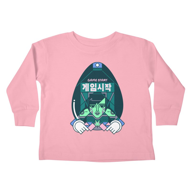 Game Start Kids Toddler Longsleeve T-Shirt by Spencer Fruhling's Artist Shop