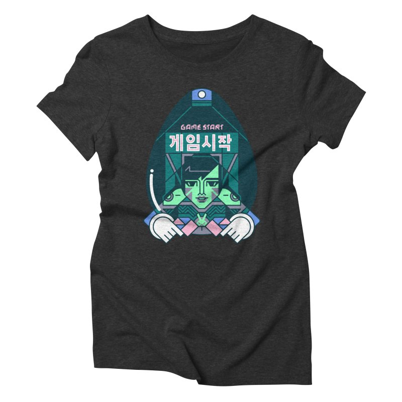 Game Start Women's Triblend T-Shirt by Spencer Fruhling's Artist Shop