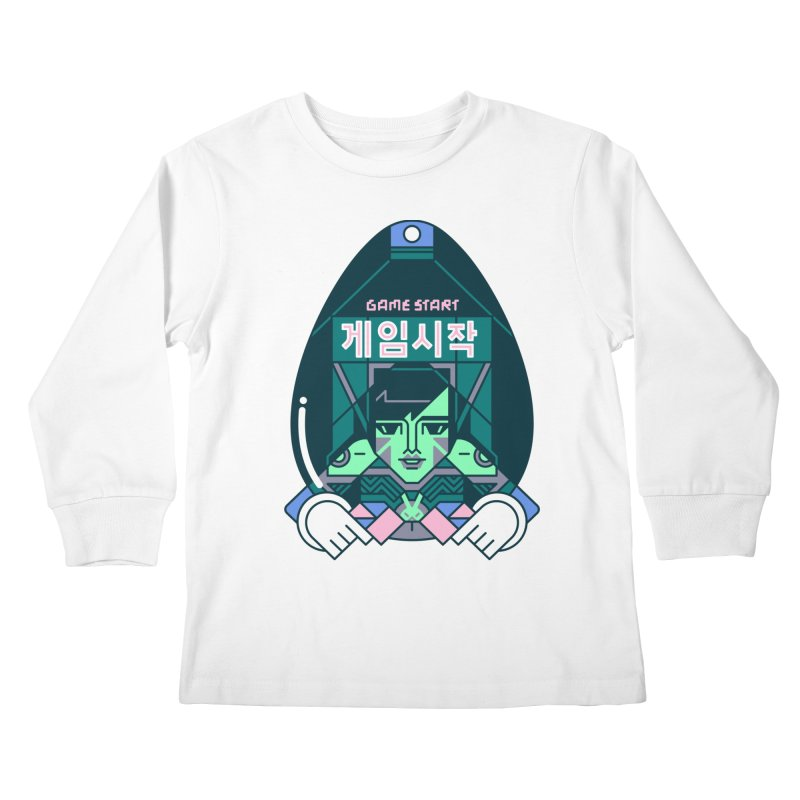 Game Start Kids Longsleeve T-Shirt by Spencer Fruhling's Artist Shop