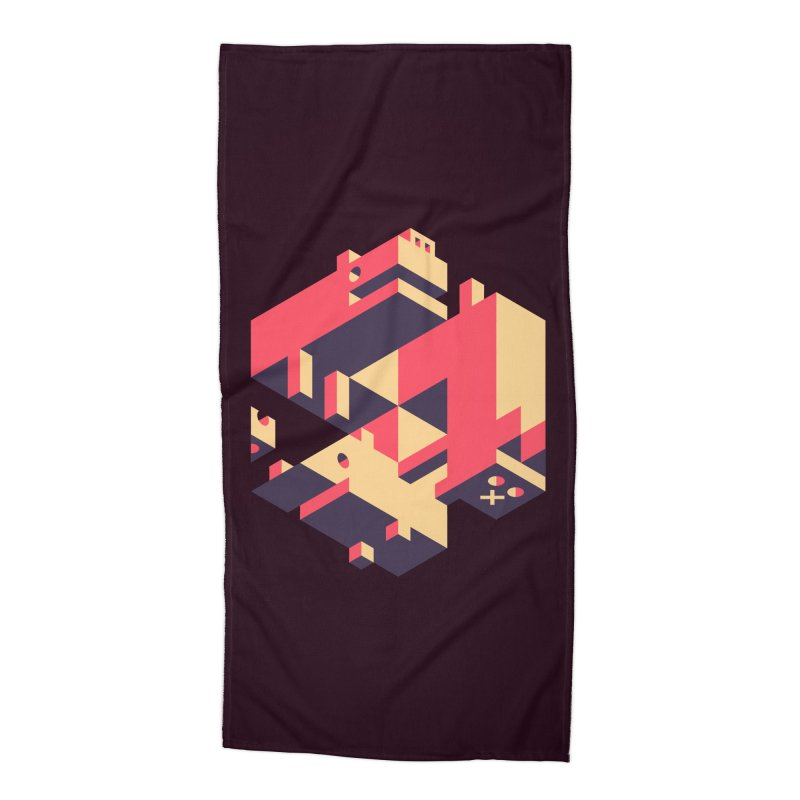 Iso-Pet-Trick Accessories Beach Towel by Spencer Fruhling's Artist Shop