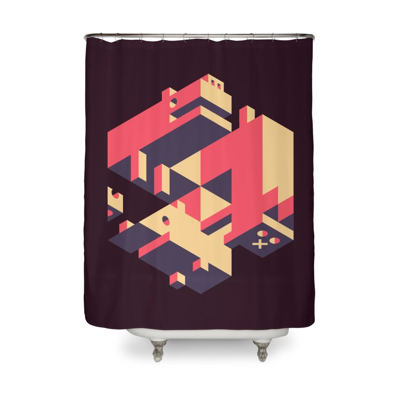 Iso-Pet-Trick Home Shower Curtain by Spencer Fruhling's Artist Shop