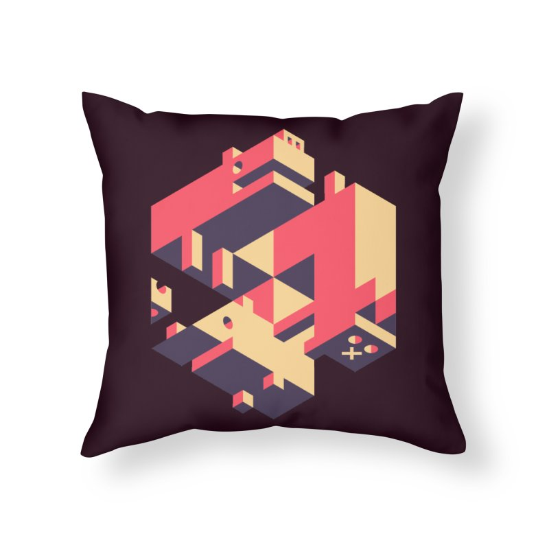 Iso-Pet-Trick Home Throw Pillow by Spencer Fruhling's Artist Shop