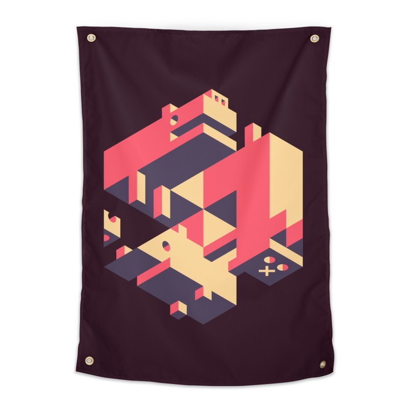 Iso-Pet-Trick Home Tapestry by Spencer Fruhling's Artist Shop