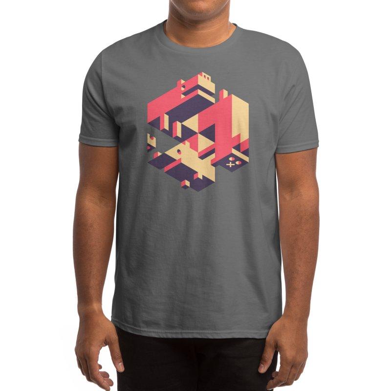 Iso-Pet-Trick Men's T-Shirt by Spencer Fruhling's Artist Shop