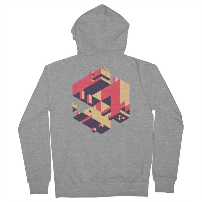 Iso-Pet-Trick Men's French Terry Zip-Up Hoody by Spencer Fruhling's Artist Shop