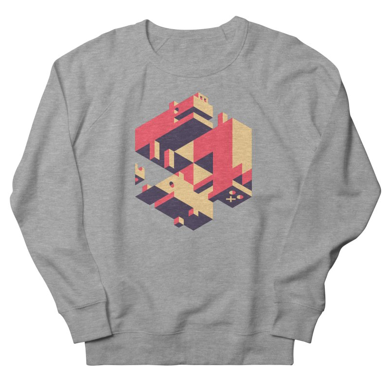 Iso-Pet-Trick Men's French Terry Sweatshirt by Spencer Fruhling's Artist Shop