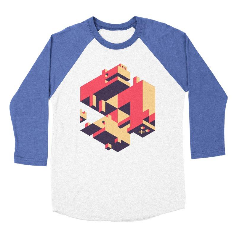 Iso-Pet-Trick Women's Baseball Triblend Longsleeve T-Shirt by Spencer Fruhling's Artist Shop