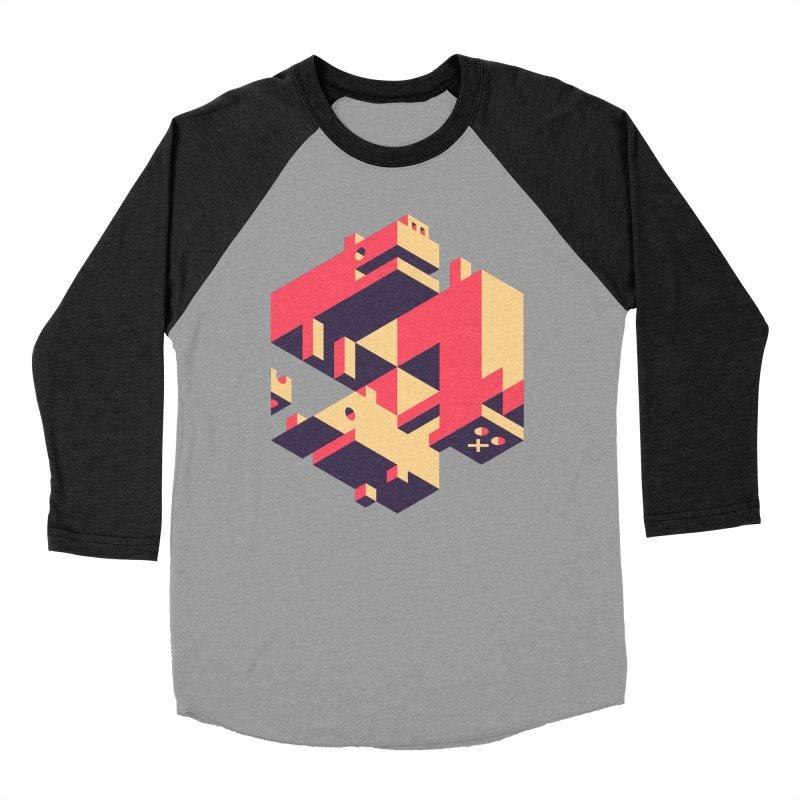 Iso-Pet-Trick Men's Baseball Triblend Longsleeve T-Shirt by Spencer Fruhling's Artist Shop