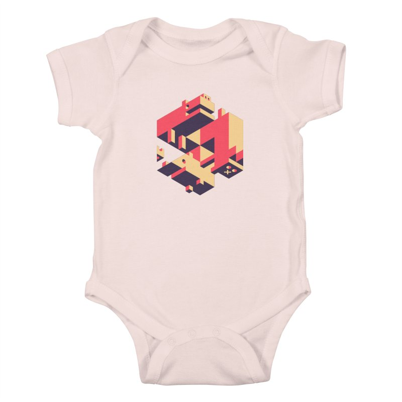 Iso-Pet-Trick Kids Baby Bodysuit by Spencer Fruhling's Artist Shop