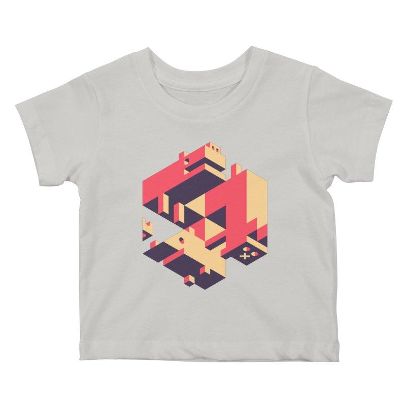 Iso-Pet-Trick Kids Baby T-Shirt by Spencer Fruhling's Artist Shop