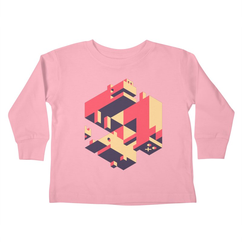 Iso-Pet-Trick Kids Toddler Longsleeve T-Shirt by Spencer Fruhling's Artist Shop
