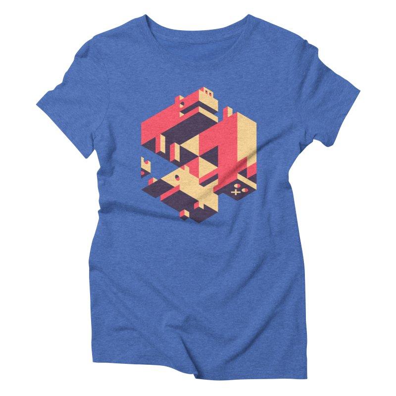 Iso-Pet-Trick Women's Triblend T-Shirt by Spencer Fruhling's Artist Shop