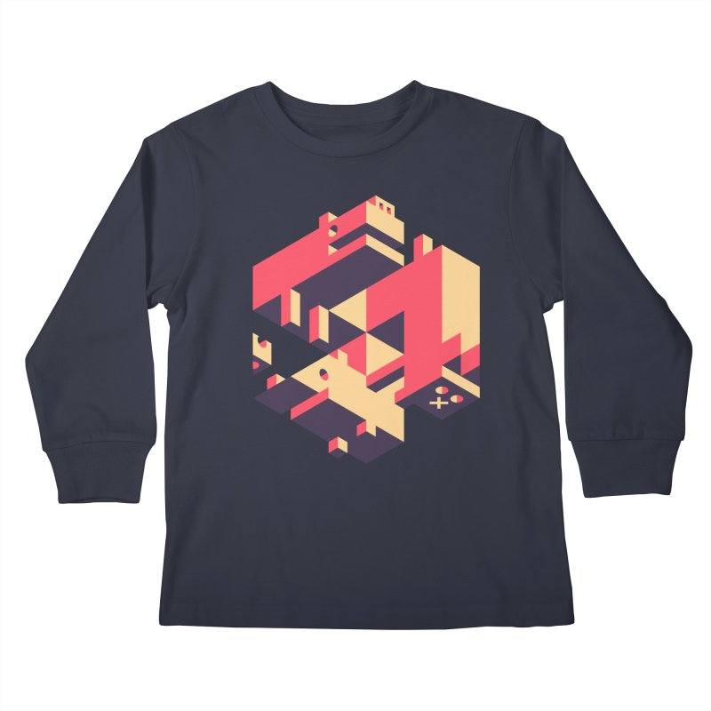 Iso-Pet-Trick Kids Longsleeve T-Shirt by Spencer Fruhling's Artist Shop