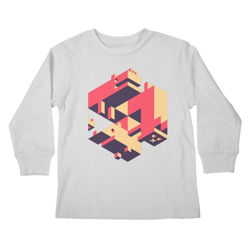 Iso-Pet-Trick Kids Longsleeve T-Shirt by Spencer Fruhling's Artist Shop