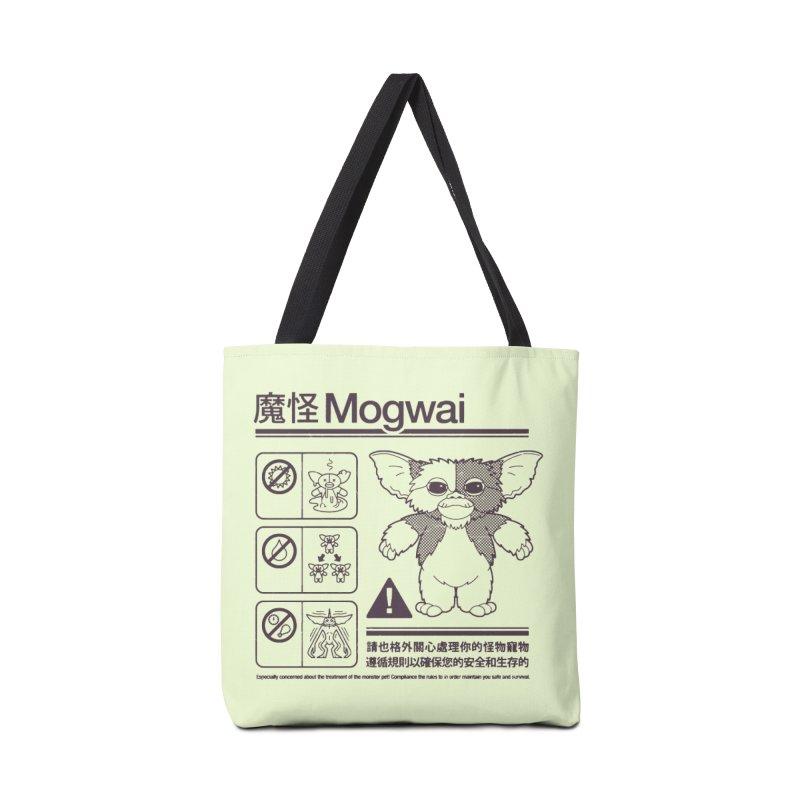 Mogwai Instructions Accessories Bag by Spencer Fruhling's Artist Shop