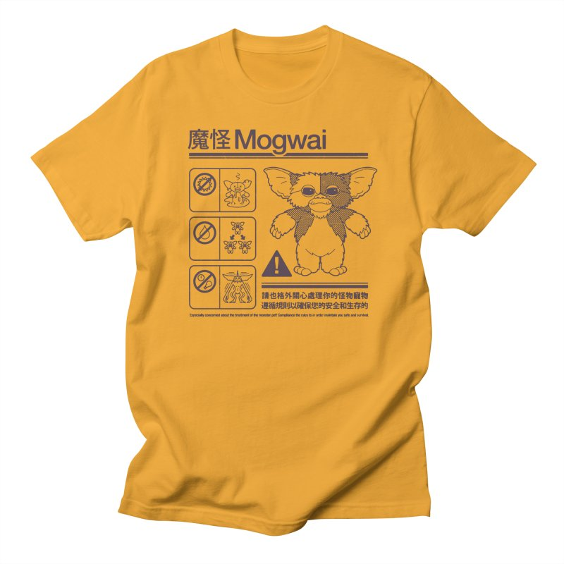 Mogwai Instructions Women's Regular Unisex T-Shirt by Spencer Fruhling's Artist Shop
