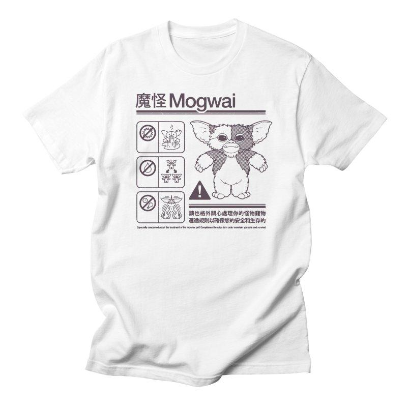 Mogwai Instructions Women's Regular Unisex T-Shirt by Spencer Fruhling's Artist Shop
