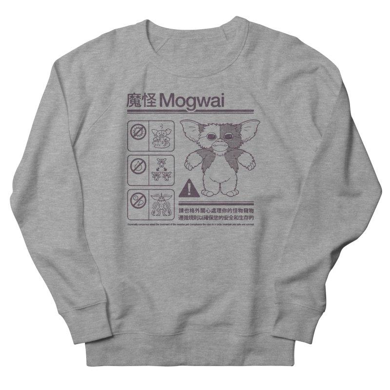 Mogwai Instructions Men's French Terry Sweatshirt by Spencer Fruhling's Artist Shop