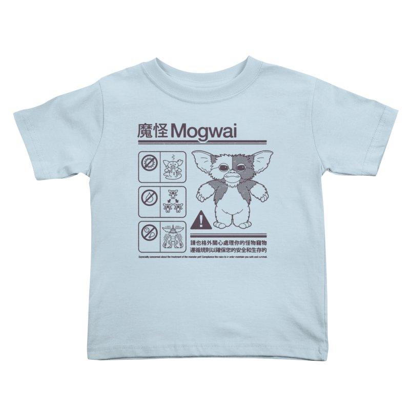 Mogwai Instructions Kids Toddler T-Shirt by Spencer Fruhling's Artist Shop