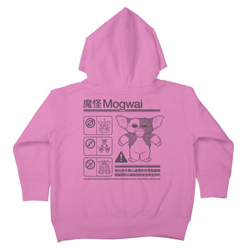 Mogwai Instructions Kids Toddler Zip-Up Hoody by Spencer Fruhling's Artist Shop