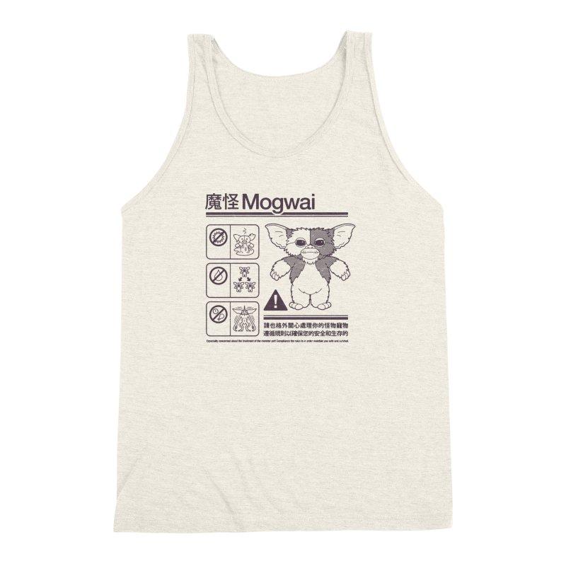 Mogwai Instructions Men's Triblend Tank by Spencer Fruhling's Artist Shop