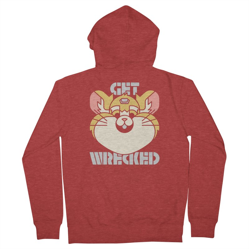 Get Wrecked Women's French Terry Zip-Up Hoody by Spencer Fruhling's Artist Shop