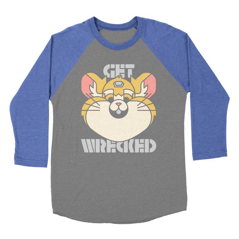 Get Wrecked Women's Baseball Triblend Longsleeve T-Shirt by Spencer Fruhling's Artist Shop