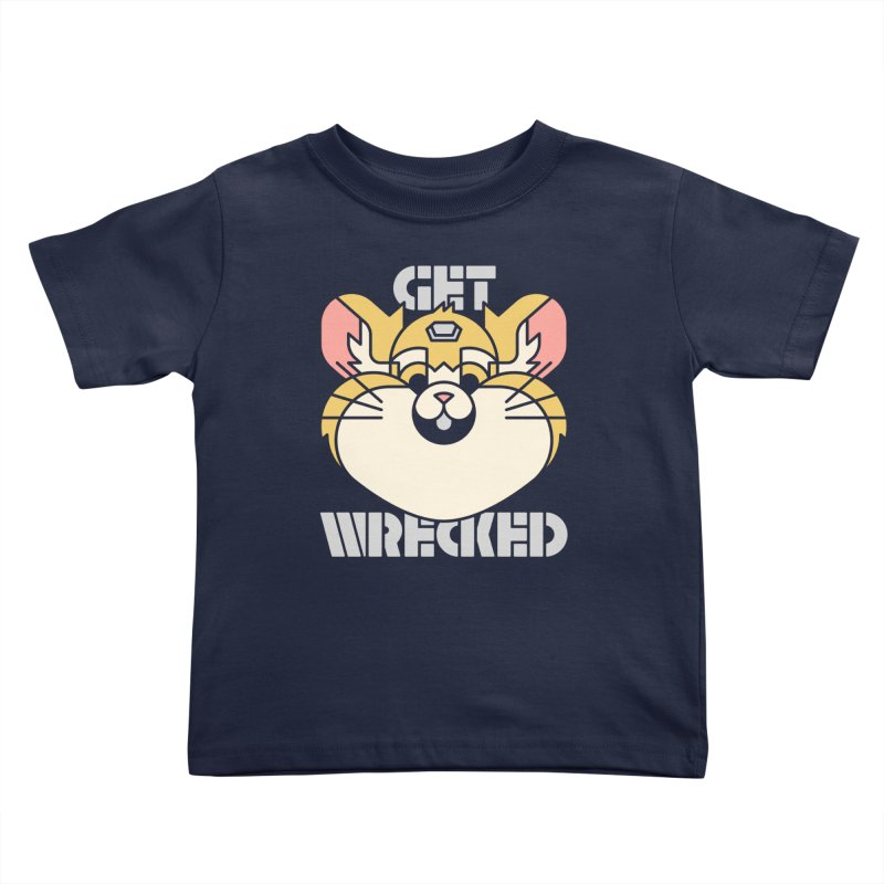 Get Wrecked Kids Toddler T-Shirt by Spencer Fruhling's Artist Shop