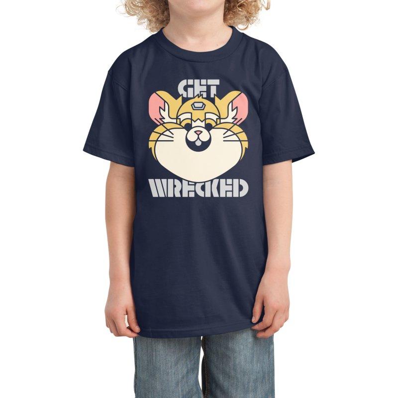 Get Wrecked Kids T-Shirt by Spencer Fruhling's Artist Shop