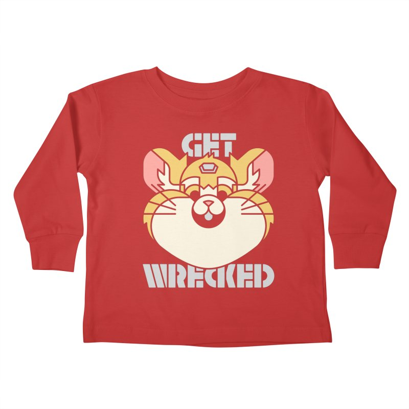 Get Wrecked Kids Toddler Longsleeve T-Shirt by Spencer Fruhling's Artist Shop