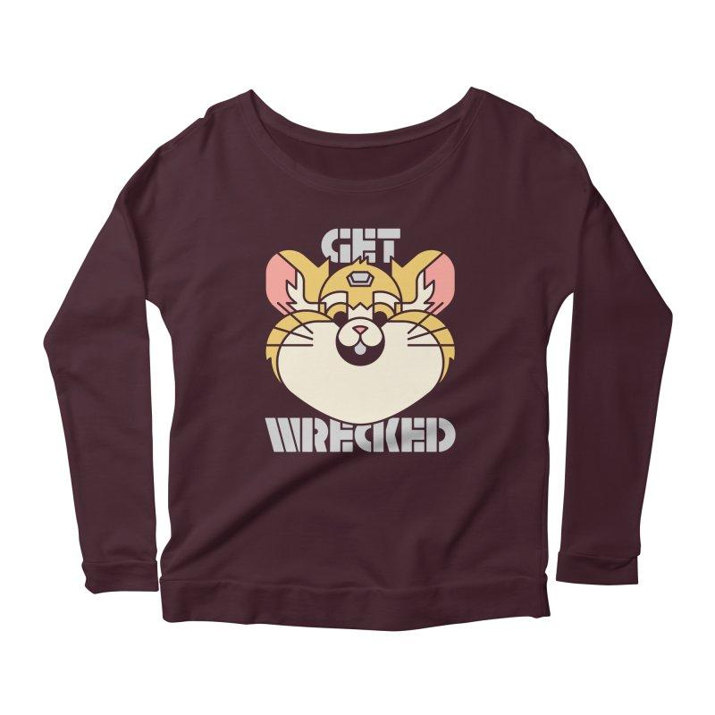 Get Wrecked Women's Scoop Neck Longsleeve T-Shirt by Spencer Fruhling's Artist Shop