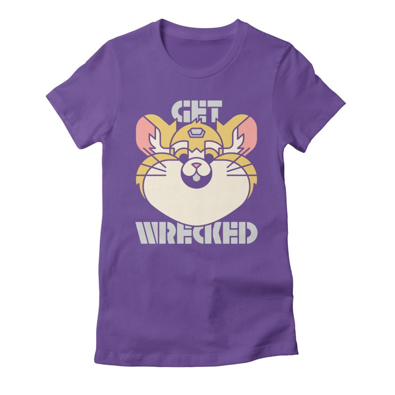 Get Wrecked Women's Fitted T-Shirt by Spencer Fruhling's Artist Shop